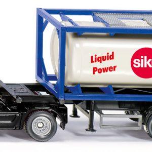 Camión con contenedor cisterna - Siku Juguetes