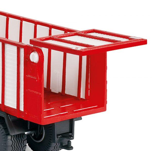 tractor Massey Ferguson con Pöttinger Jumbo - Siku Juguetes