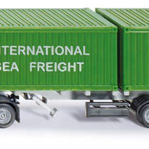 Camión con contenedor - Siku Juguetes