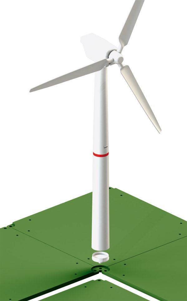 Camión con turbina eólica - Siku Juguetes