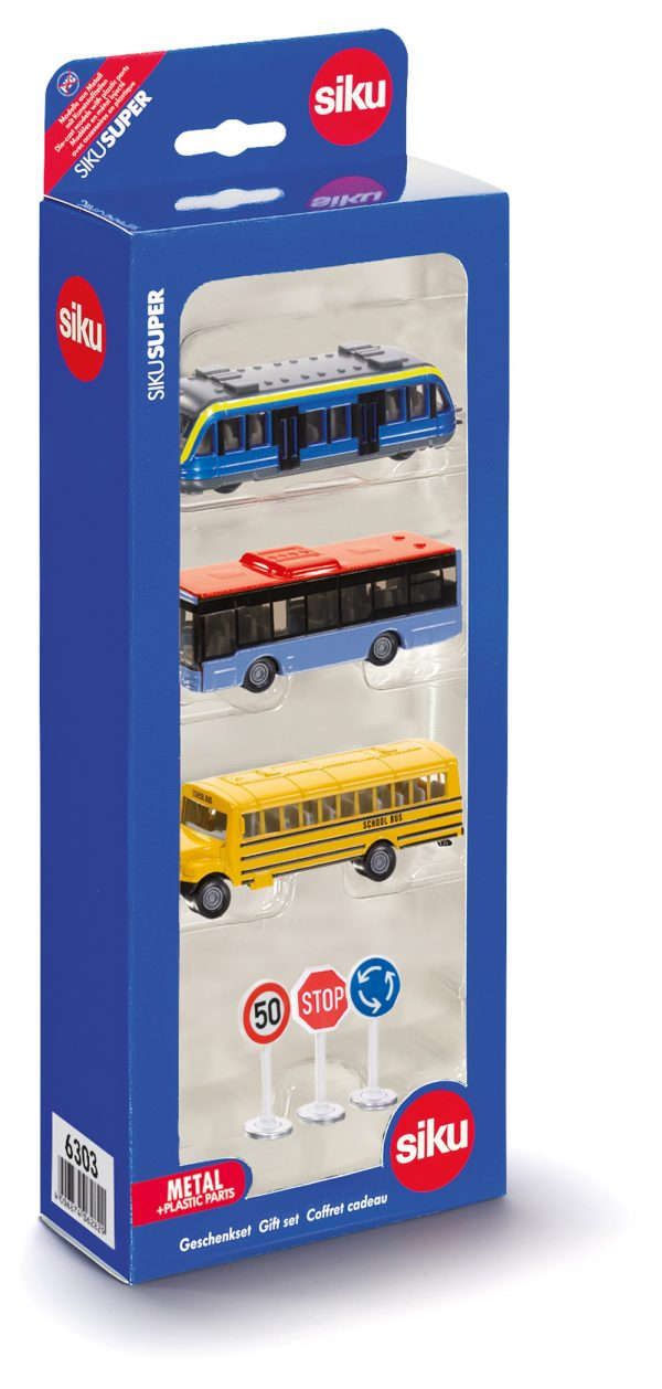 Set de regalo de transporte urbano - Siku Juguetes