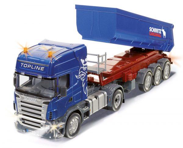 Scania con control de trailerremote de inflexión