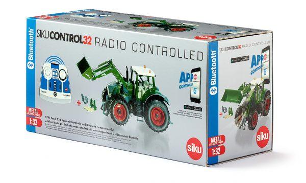 Fendt 933 Vario con cargador frontal y control remoto - Siku Juguetes
