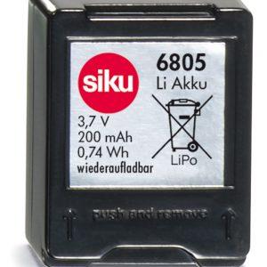 batería de almacenamiento SIKUracing 200 mAh - Siku Juguetes