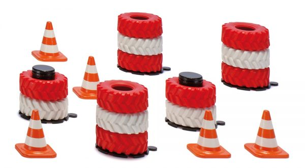 Accesorios pilas de neumáticos y pilones - Siku Juguetes